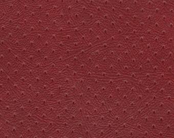BTY Red Vintage Auto Vinyl w/ Piercings