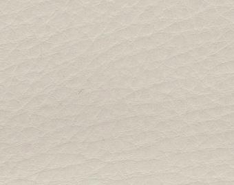 1 5/6 Yards 1972 GM Vintage White Auto Vinyl w/ Tortoise Grain