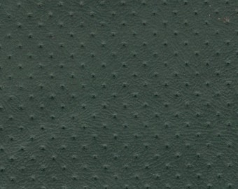 1+ Yards 1973 GM Vintage Perforated Green Auto Vinyl