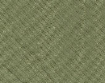 1 3/4 Yards 1975-77 Ford Vintage Light Olive Green Auto Vinyl w/ Tiny Diamonds