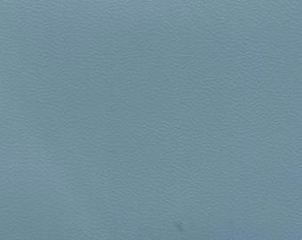 BTY Light Blue Vintage Auto Vinyl w/ Very Fine Grain