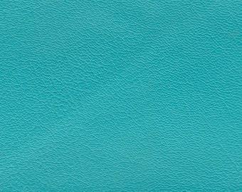 BTY Bright Turquoise Vintage Auto Vinyl w/ Very Fine Grain