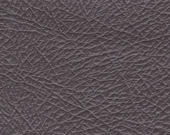 2+ Yards Vintage Grey Auto Vinyl w/ Deep Heavy Grain