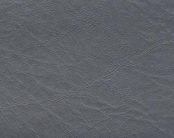 BTY Bluish Grey Vintage Auto Vinyl w/ Elephant Skin