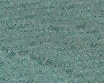 BTY Vintage Light Green Auto Vinyl Headliner w/ Heat Pressed Hexagons