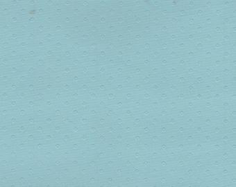 BTY 1962-63 GM Powder Blue Vintage Auto Vinyl Headliner w/ Dots