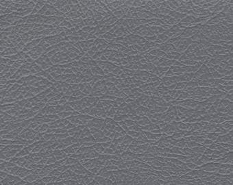 BTY Grey Vintage Auto Vinyl w/ Deep Grain