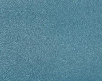 BTY Blue Vintage Auto Vinyl w/ Pebbled Grain