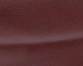 2 Large Remnants Vintage Brownish Red Auto Vinyl w/ Fine Grain