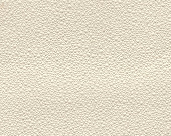 BTY 1966-70 Ford Vintage Cream White Auto Vinyl Headliner w/ Small Craters