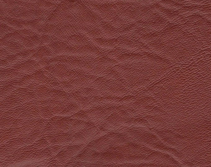 Featured listing image: BTY Vintage Brick Red Auto Vinyl w/ Elephant Skin