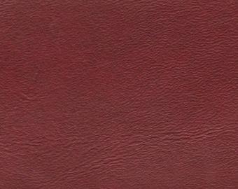 5 Remnants Vintage Brownish Red Auto Vinyl w/ Fine Grain
