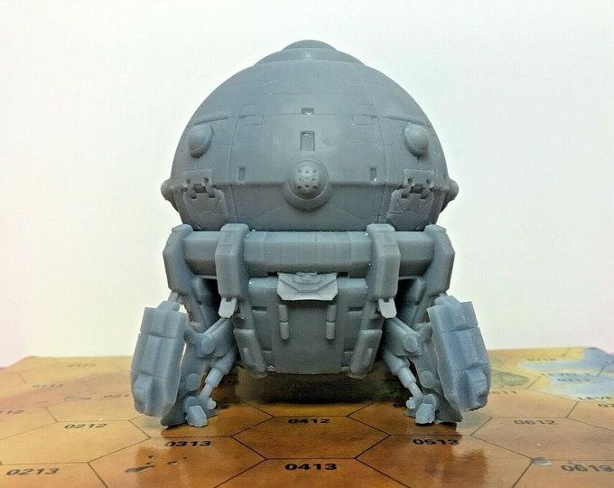 Featured listing image: BattleTech/CityTech - Mapscale NuSeen Union Dropship - ORIGINAL