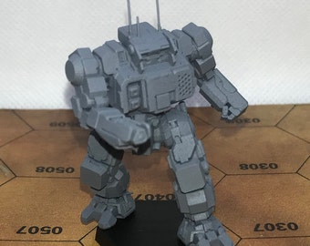 Battletech Miniatures - TRO 2750/Wolf's Dragoons - Inner Sphere Mechs MWO Style - 3D Printed on Demand