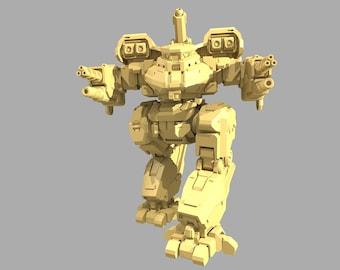 Battletech Miniatures - Bull Shark - PMW Sculpt - Multiple Variants