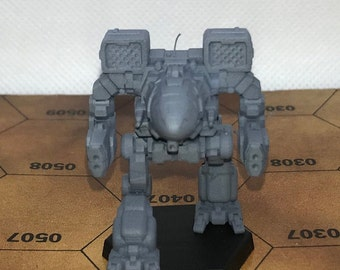 Battletech Miniatures - TRO 3050 - Clan and Inner Sphere Mechs MWO Style - 3D Printed on Demand
