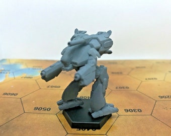 Battletech Miniatures - TRO 3055 - Clan and Inner Sphere Mechs MWO Style - 3D Printed on Demand