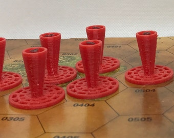 Wargaming Objective Markers