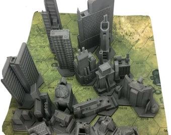 BattleTech/CityTech - Individual Mapscale Buildings
