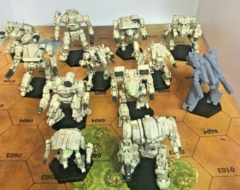 Battletech Miniatures - Build a Clan Binary - MWO Style