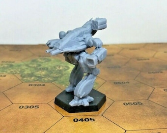 Battletech Miniatures - TRO 3058 - Clan and Inner Sphere Mechs MWO Style - 3D Printed on Demand