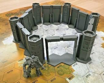 BattleTech/CityTech - Mapscale Buildings - Kiudo Fortress