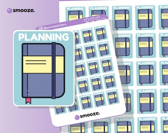 Planning time planner stickers | planner stickers uk | functional planner stickers | cute planner stickers | mental health journal