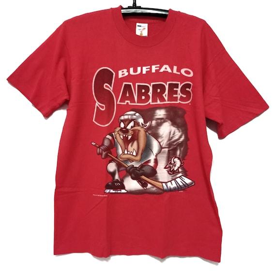 Tazzmania x Buffalo Sabres Shirt Authentic Hockey