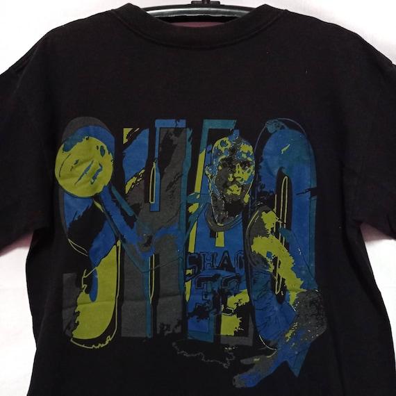 Reebok x Shaquille O'Neill Shirt Vintage 90s Black