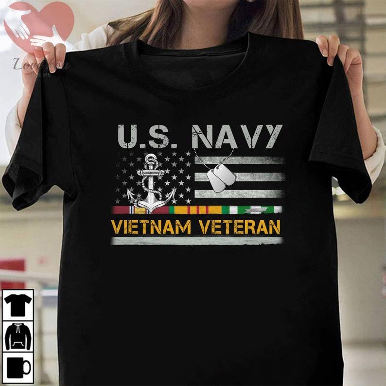 Us Navy Vietnam Veteran Shirt Masswerks Store