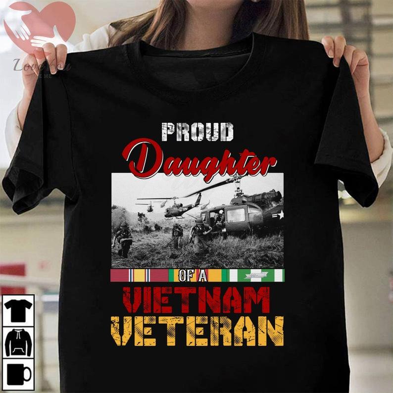 Daughter Of A Vietnam Veteran T Shirt Masswerks Store