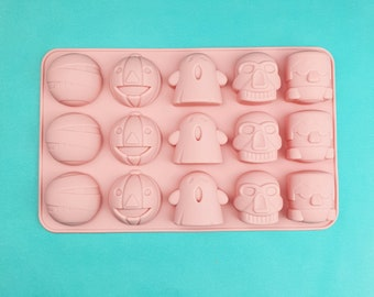 Halloween Assorted Miniatures Chocolate Novelty Mold H1