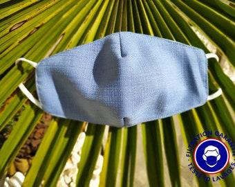 UNS1 Light Blue Mask - 93% filtration