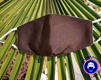 UNS1 Brown Mask - 93% filtration