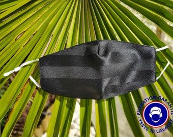 UNS1 Black Mask - 93% filtration