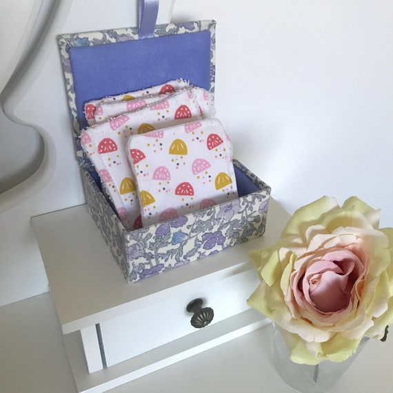 Confetti Print Reusable Make Up Wipes