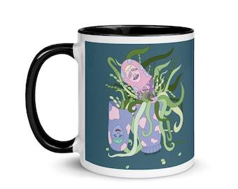 Finding My Inner-Self    11 oz Ceramic Mug   Weird Mug   Fun Mug   Unique Mug   Cute Mug   FREE US SHIPPING