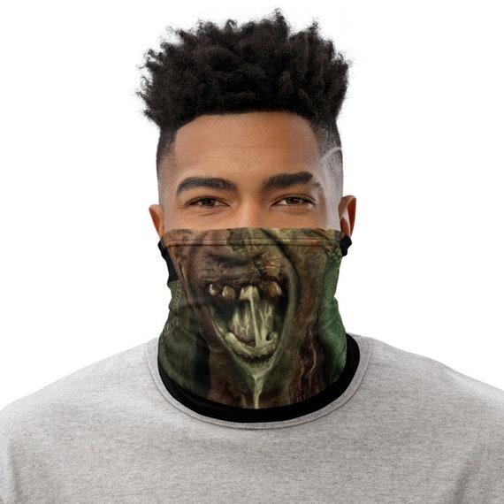 Zombie Neck Gaiter/ Face Mask / Buff / Tubular Scarf