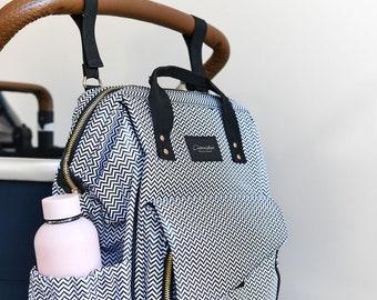 Baby Bag Set with Change Mat & Free Dummy Holder
