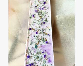 Purple or Mauve Lavender Soap Bars