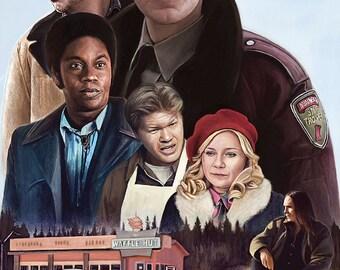Fargo by Fredlobo Lopez poster