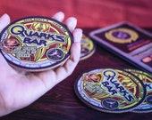 Star Trek Cork Coasters, Sci- Fi Coasters, Quark 39 s, Deep Space 9, geek gift, set of 4 8 Drink Coasters, Beermat