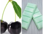 Black Cherry, Highly Scented, Soy Wax Melts, Snapbar, Deli Pot, Clamshell, Gift, Soy Wax