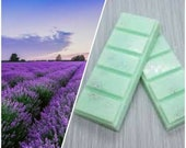 Lavender, Highly Scented, Soy Wax Melts, Flowers, Deli Pot, Clamshell, Snapbar, Gift, Soy Wax