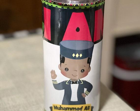 Children's Tumbler, Black History, Personalized Tumbler, Small Tumbler