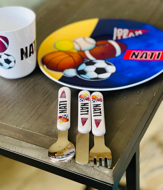Personalized Plates for Kids| Personalized Tableware| Kids Cutlery Set| Best Gift| BPA Free