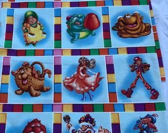 100/% Cotton Woven Fabric Fat Quarter FQ Candy Land Hasbro Classic Board Game 2009