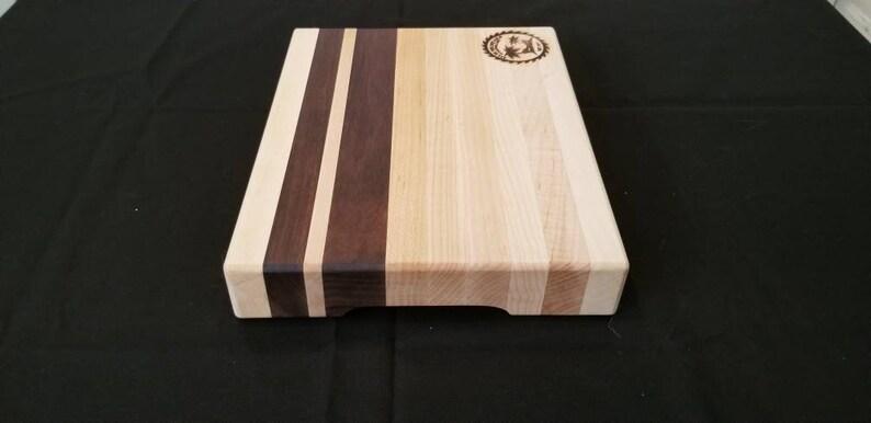Small hardwood cuttingboard
