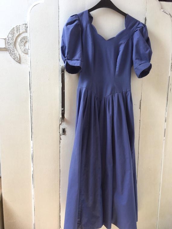 Laura ashley dress,blue,elegant,