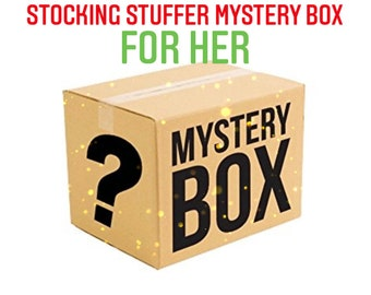 Stocking Stuffer Handmade Self Care Mystery Box  for Her, up to 40 dollar value!